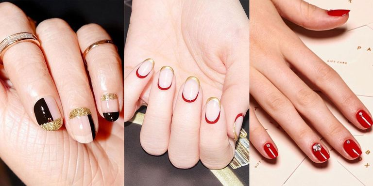 'Tis the season to be polished. - 17 Holiday Nail Art Designs - Christmas Nail Art Ideas For A