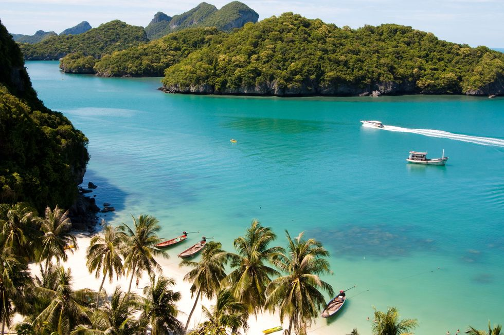 Winter sun islands - Wear a kaftan in the koh samui