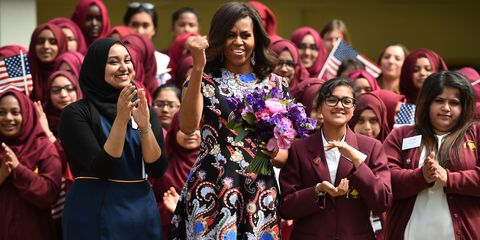 """Michelle Obama on Girls' Education: """"This issue is personal for me."""""""