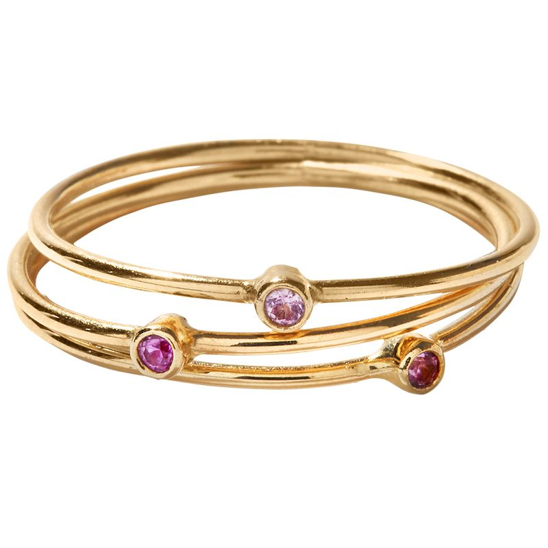 "<p>""I have a stack of Jennifer Meyer pinkie rings that&nbsp&#x3B;I never take off, and a Cartier Love bracelet that&nbsp&#x3B;my godparents gave me for my 40th birthday.&nbsp&#x3B;I am very sentimental about jewelry.""</p><p><em data-redactor-tag=""em"" data-verified=""redactor"">Jennifer Meyer<span class=""redactor-invisible-space"" data-verified=""redactor"" data-redactor-tag=""span"" data-redactor-class=""redactor-invisible-space""> r</span>ings,&nbsp&#x3B;$175 each,&nbsp&#x3B;<a href=""https://www.ylang23.com/"" target=""_blank"">ylang23.com</a>.&nbsp&#x3B;</em></p>"