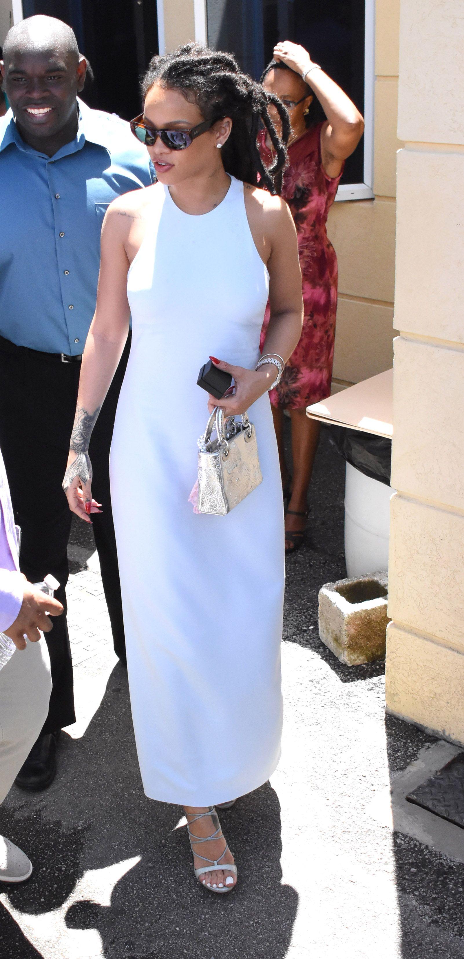 Style a white dress