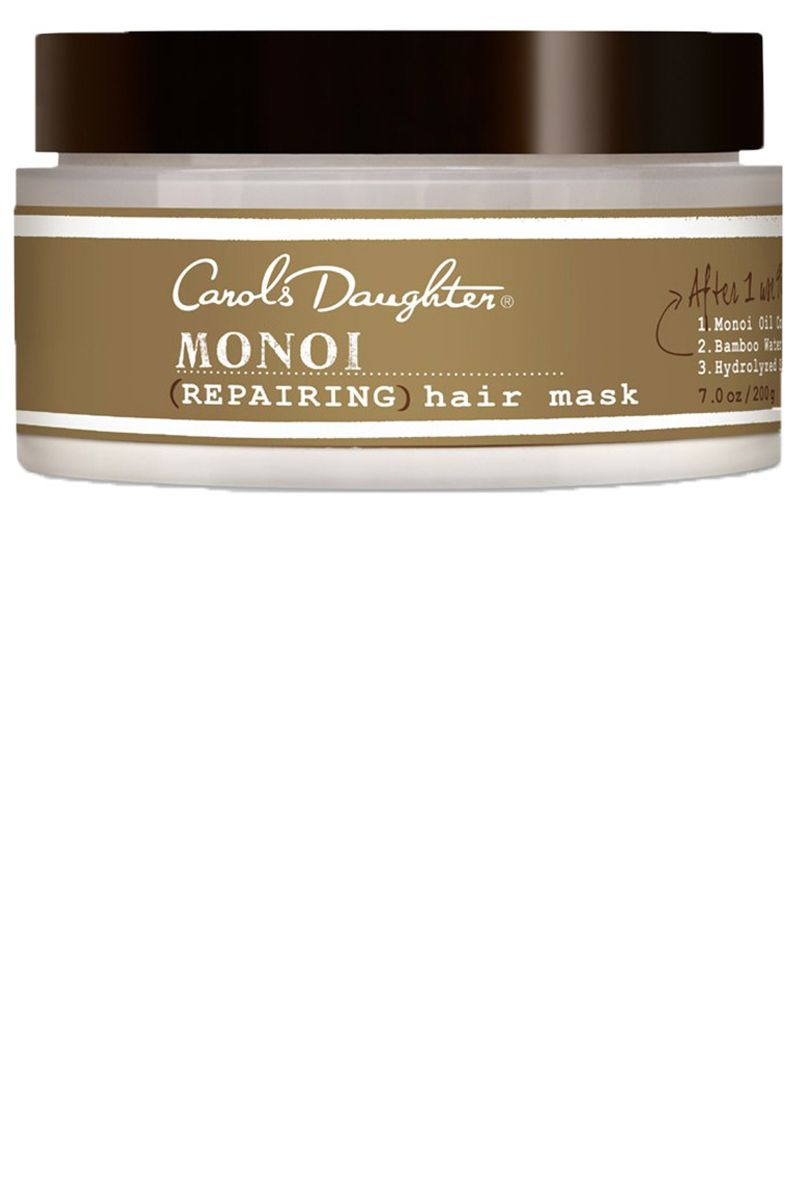 """<p>This top-rated hair mask leaves curlsnoticeably more manageable after just onefive-minute session. For an extra kick of hydration, work it through your hair and cover it with a shower cap for about 20 minutesbefore rinsing. </p><p><strong data-redactor-tag=""""strong"""">Carol's Daughter </strong>Monoi Repairing Hair Mask, $32, <a href=""""http://www.ulta.com/monoi-repairing-hair-mask?productId=xlsImpprod4210183"""" data-tracking-id=""""recirc-text-link"""">ulta.com</a><br></p>"""
