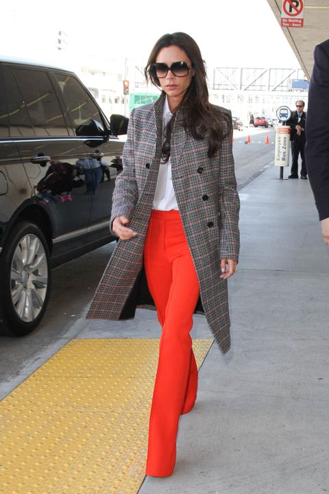 <p> Worn with either Stan Smith trainers, sandals or heels, Beckham's penchant for flared trousers is prevalent on both the catwalk and through her own style choices. Be gone the skinny jean once and for all. </p>