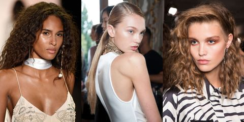 Best Hair Trends For Spring 2017 Runways Backstage