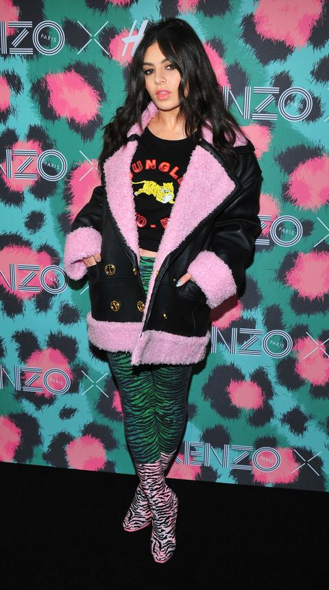 Sleeve, Pattern, Textile, Outerwear, Pink, Magenta, Fashion, Turquoise, Teal, Jacket,