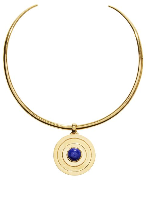 "<p><strong data-redactor-tag=""strong"" data-verified=""redactor"">Lapis Jennifer Alfano</strong> choker, $675,&nbsp;<a href=""http://www.jenniferalfano.com/"" target=""_blank"">jenniferalfano.com</a>.<span class=""redactor-invisible-space"" data-verified=""redactor"" data-redactor-tag=""span"" data-redactor-class=""redactor-invisible-space""></span></p>"