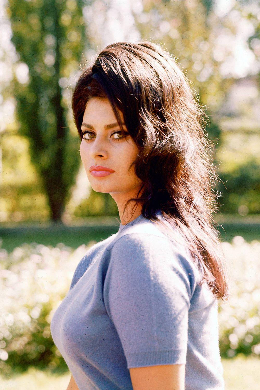 20 photos of sophia loren sophia loren - Sophia Loren Hair Color