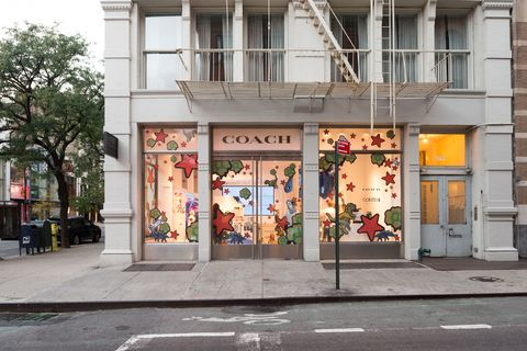 eb648aa485 The cult Parisian boutique Colette has landed in New York City in the form  of a très chic pop-up store. It s located at Coach s Soho Lab store and  will be ...