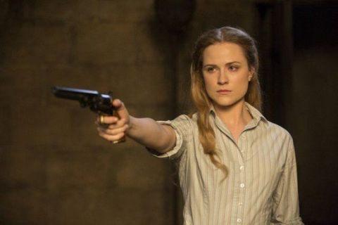Evan Rachel Wood in Westworld episode 5