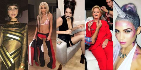 from the hottest halloween parties of the year to the a lister instagrams were tracking the best celebrity costumes of 2016 - Celeb Halloween Costume