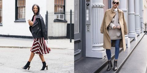 Clothing, Sleeve, Sunglasses, Textile, Standing, Outerwear, Human leg, Street fashion, Style, Coat,
