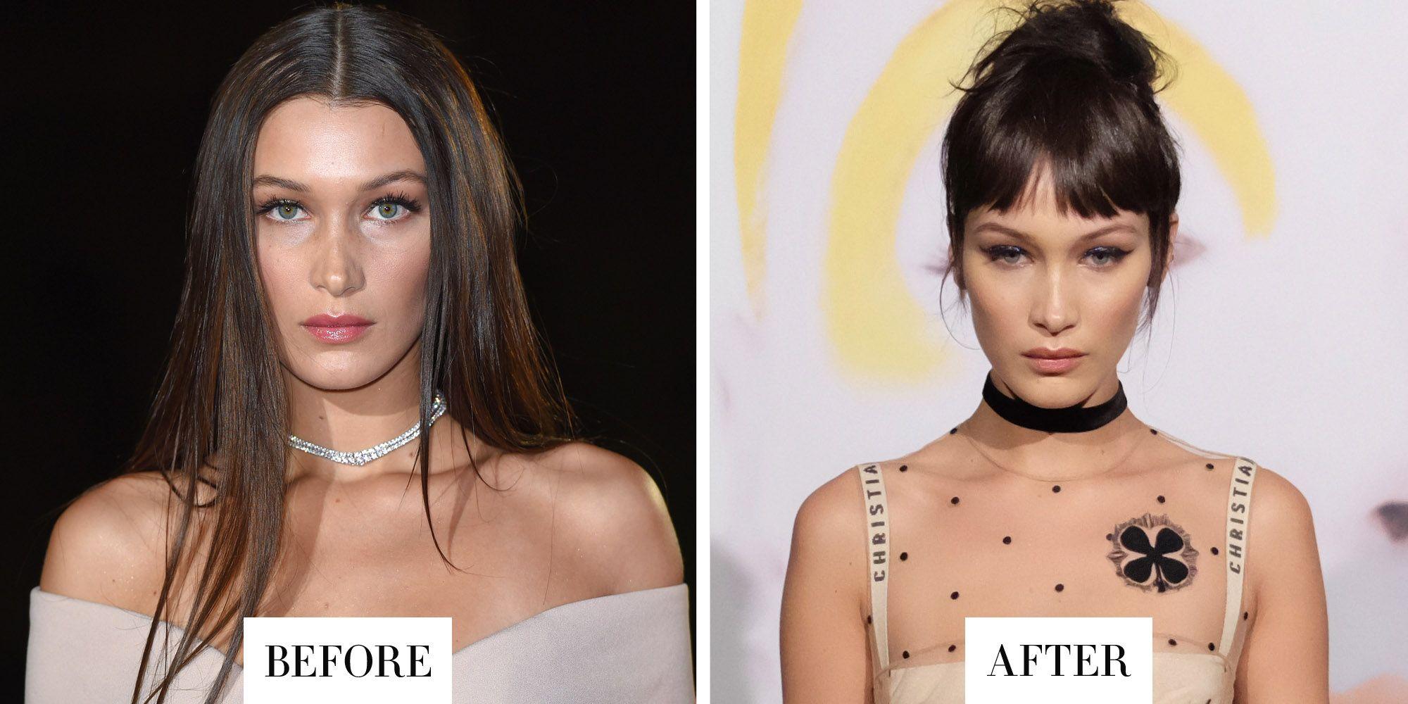 Best Celebrity Hair Transformations 2016 Celebrity Hairstyles