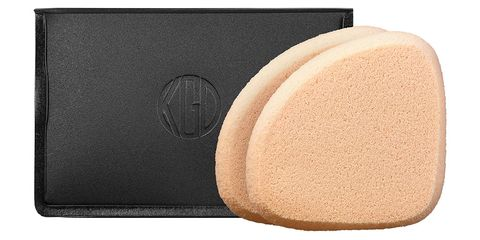 "<p>The dense elastic material of this sponge won't soak up all your foundation (or tinted moisturizer…or CC cream…), so even the priciest products will go a long way. Plus, it's handy shape and size makes it easy to deliver the perfect amount of pressure. &nbsp;</p><p><strong data-redactor-tag=""strong"">Koh Gen Do</strong> Makeup Sponge for Liquid and Cream Foundation, $18, <a href=""http://www.sephora.com/makeup-sponge-for-liquid-cream-foundation-P398080?om_mmc=ppc-GG_652230631_29731551261_dsa-161162321585__140881059267_9004347_c&amp;publisher_id=255779&amp;sub_publisher=g&amp;is_mobile=&amp;sub1=b&amp;sub_keyword=_cat%3Akoh+gen+do&amp;sub_campaign=652230631&amp;sub_placement=&amp;gdevice=c&amp;gclid=CjwKEAjw19vABRCY2YmkpO2OzTsSJAAzEt8slFxssw-mABMyuOs-0m5De2fufs0qDr1YGFQTgzDJhBoCSMDw_wcB&amp;site=us_search&amp;gmodel=&amp;country_switch=us&amp;lang=en&amp;sub_ad=140881059267"" target=""_blank"" data-tracking-id=""recirc-text-link"">sephora.com</a>.</p>"
