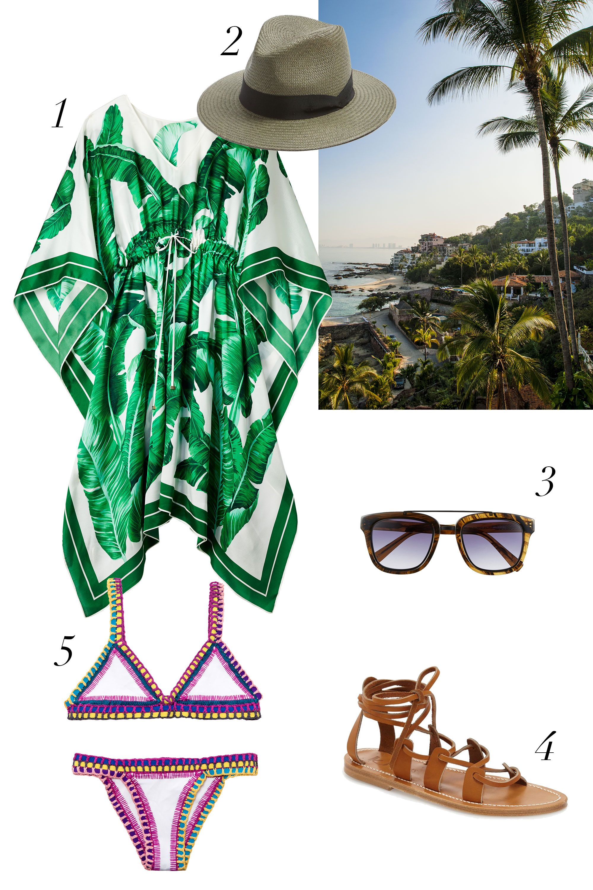 "<p>Because there's a reason every fashion person you follow on Instagram has a feed smattered with Tulum selfies. Pure bohemian bliss...</p> <p><strong data-redactor-tag=""strong"" data-verified=""redactor"">What to Pack:</strong> <em data-verified=""redactor"" data-redactor-tag=""em"">1</em><em data-redactor-tag=""em"" data-verified=""redactor"">.</em> <em data-redactor-tag=""em"" data-verified=""redactor"">Dolce & Gabbana Banana Leaf Print Silk Caftan Dress, $2,145, <a href=""http://shop.nordstrom.com/s/dolcegabbana-banana-leaf-print-silk-caftan-dress/4393870?&cm_mmc=Mindshare_Nordstrom-_-NovemberAcc-_-Hearst-_-proactive"" target=""_blank"" data-tracking-id=""recirc-text-link"">nordstrom.com</a>; 2. <em data-redactor-tag=""em"" data-verified=""redactor"">Rag & Bone Straw Panama Hat, $230, <a href=""http://shop.nordstrom.com/s/rag-bone-straw-panama-hat/4299523?&cm_mmc=Mindshare_Nordstrom-_-NovemberAcc-_-Hearst-_-proactive"" target=""_blank"" data-tracking-id=""recirc-text-link"">nordstrom.com</a>;</em> 3. <em data-redactor-tag=""em"">Derek Lam 'Prince' 50 mm Aviator Sunglasses, $320, </em><a href=""http://shop.nordstrom.com/s/derek-lam-prince-50mm-aviator-sunglasses/4019963?&cm_mmc=Mindshare_Nordstrom-_-NovemberAcc-_-Hearst-_-proactive"" target=""_blank"" data-tracking-id=""recirc-text-link""><em data-redactor-tag=""em"" data-tracking-id=""recirc-text-link"">nordstrom.com</em></a>; 4. <em data-redactor-tag=""em"">K. Jacques St. Tropez Ankle Wrap Sandal, $295, <a href=""http://shop.nordstrom.com/s/k-jacques-flat-sandal/4248255?&cm_mmc=Mindshare_Nordstrom-_-NovemberAcc-_-Hearst-_-proactive"" target=""_blank"" data-tracking-id=""recirc-text-link"">nordstrom.com</a>; </em>5. Kiini 'Yaz' Crochet Trim Bikini Top, $165, and Bikini Bottoms, $120, <a href=""http://shop.nordstrom.com/o/kiini-bikini-top-bottoms/4409285?&cm_mmc=Mindshare_Nordstrom-_-NovemberAcc-_-Hearst-_-proactive"" target=""_blank"" data-tracking-id=""recirc-text-link"">nordstrom.com</a> </em><a href=""http://shop.nordstrom.com/s/derek-lam-prince-50mm-aviator-sunglasses/4019963?origin=category-personalizedsort&fashioncolor=CARAMEL%20STRIPES"" target=""_blank"" data-tracking-id=""recirc-text-link""></a></p>"