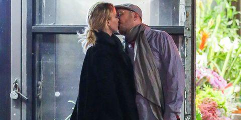 Ear, Kiss, Cap, Romance, Interaction, Love, Honeymoon, Conversation, Gesture, Scene,