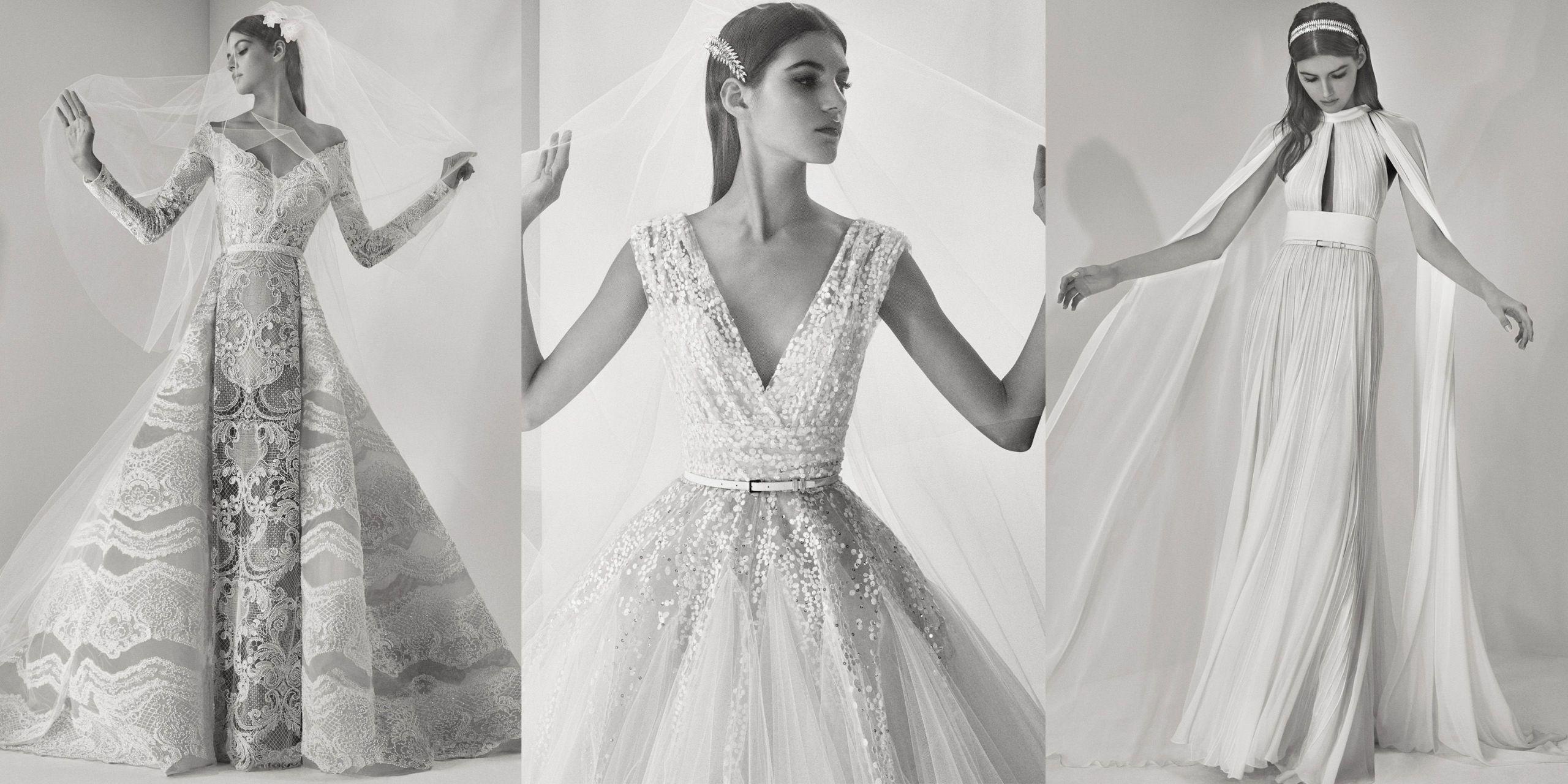 See Every Look From Elie Saab Fall 2017 Bridal , Elie Saab