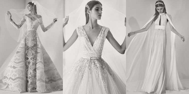 See every look from elie saab fall 2017 bridal elie saab bridal the fall 2017 bridal collections were jam packed with intricate lacework jaw dropping trains fresh takes on classic silhouettes endless yards of tulle junglespirit Choice Image