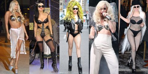 Face, Eyewear, Sunglasses, Hat, Goggles, Thigh, Fashion accessory, Fashion, Musical instrument, Fashion model,