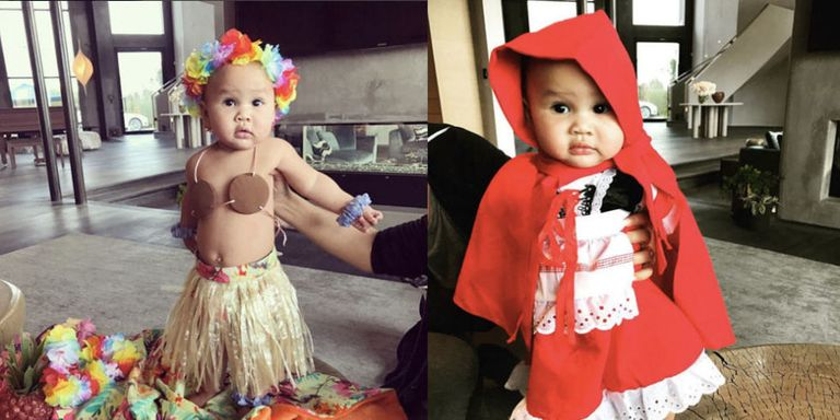 Chrissy Teigen Shares Pictures Of Luna Legend S Halloween