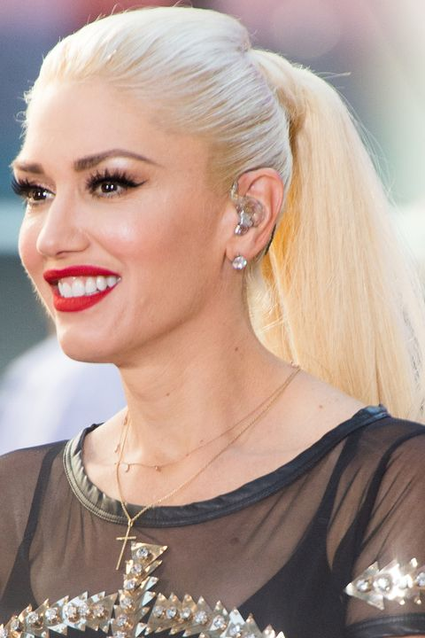 "<p> Gwen Stefani once again reaches multi-platinum status, and this thick, lustrous ponytail tops the style charts at number one.&nbsp;</p><p><span class=""redactor-invisible-space"" data-verified=""redactor"" data-redactor-tag=""span"" data-redactor-class=""redactor-invisible-space""></span></p>"