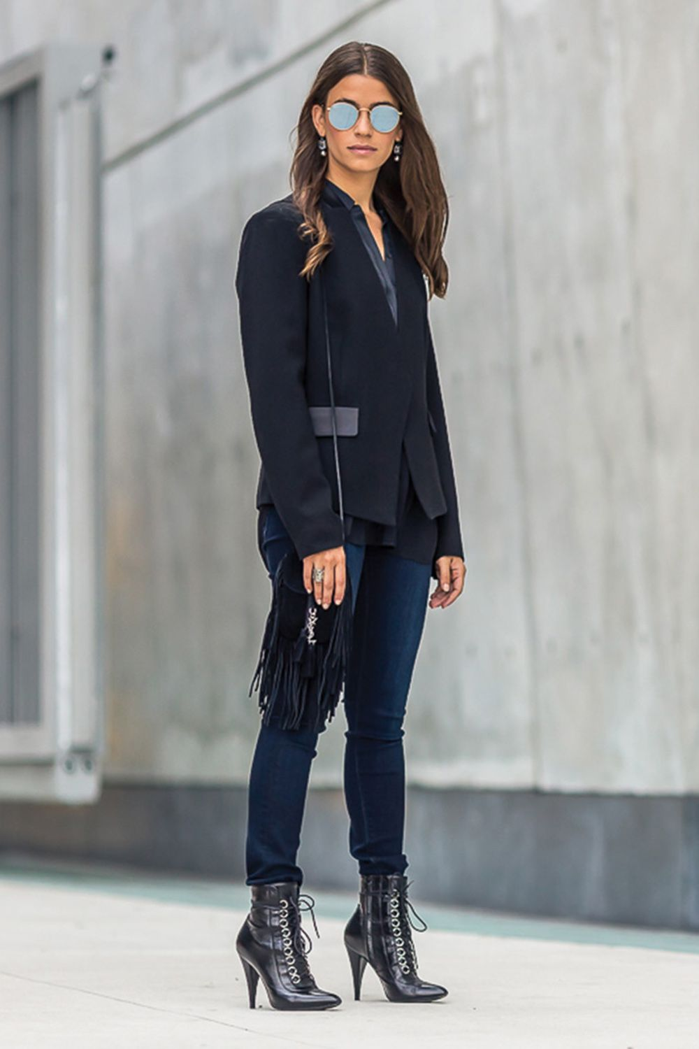 """<p>""""This season I'm inspired by menswear and this tailored blazer is a classic."""" —<span class=""""redactor-invisible-space"""" data-verified=""""redactor"""" data-redactor-tag=""""span"""" data-redactor-class=""""redactor-invisible-space""""> Executive Accessories Director, Amanda Alagem</span></p>"""