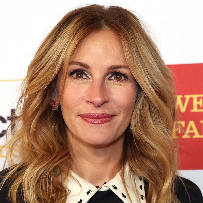 """<p>A multi-dimensional mix of honey and copper tones look natural on Julia Roberts's signature tousled waves.</p><p><span class=""""redactor-invisible-space"""" data-verified=""""redactor"""" data-redactor-tag=""""span"""" data-redactor-class=""""redactor-invisible-space""""></span></p>"""