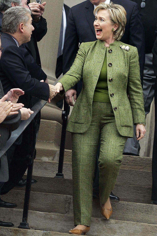 hillary clinton s best pantsuits clinton rainbow pant suits