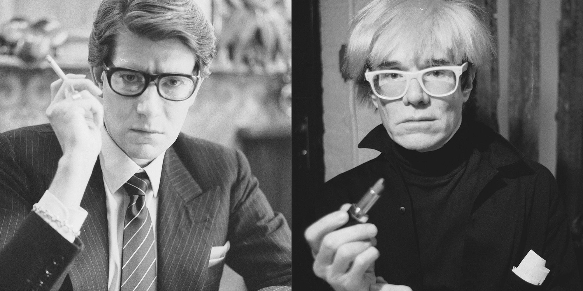 Yves Saint Laurent's Letter to Andy Warhol