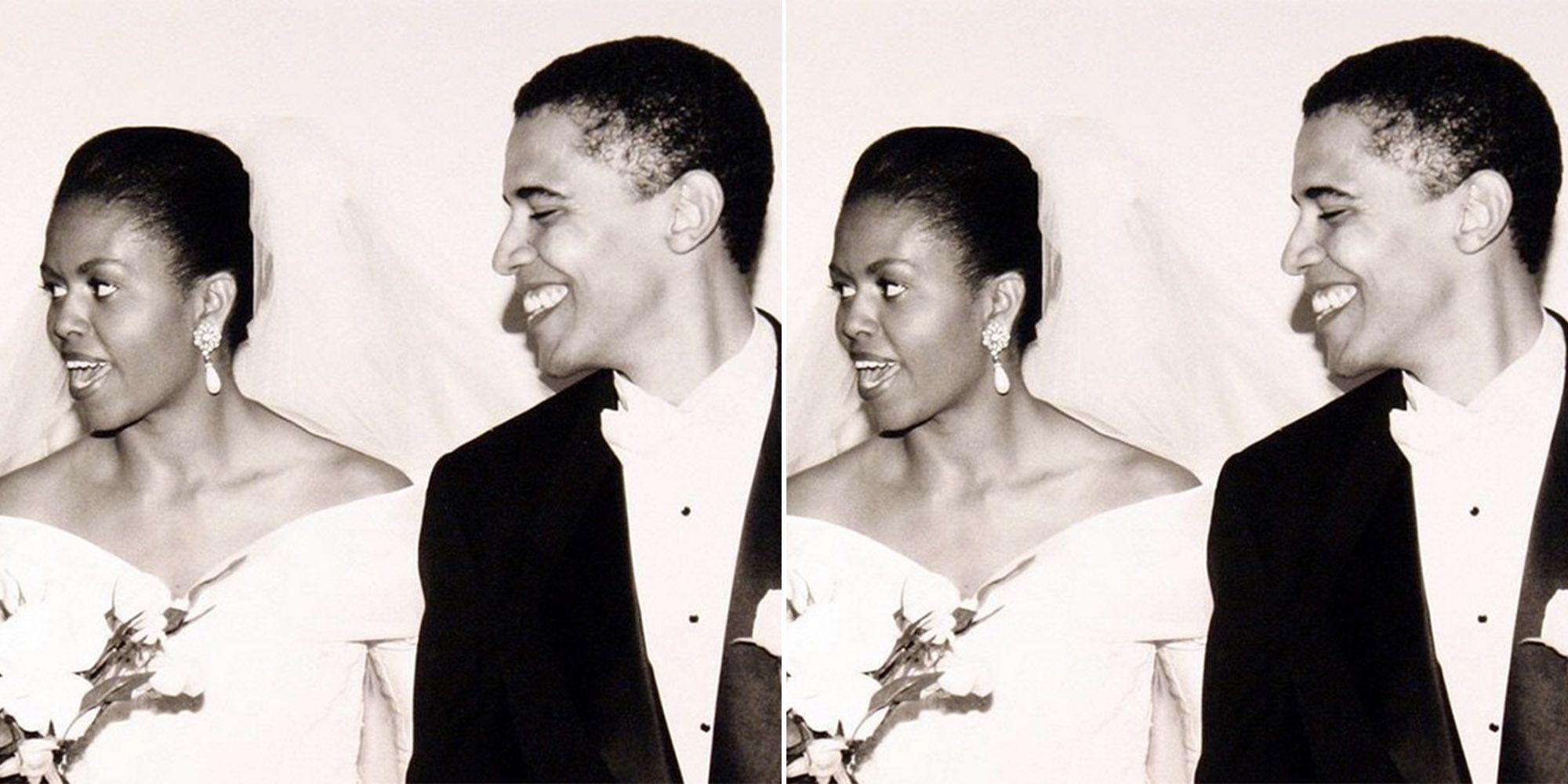Barack And Michelle Obama Had The Sweetest Wedding Photoshoot