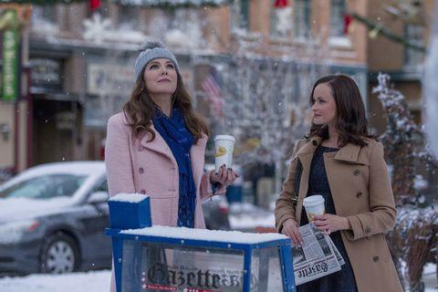 Gilmore Girls winter