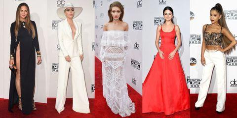 American Music Awards Fashion 2016 - AMAs 2016 Red Carpet