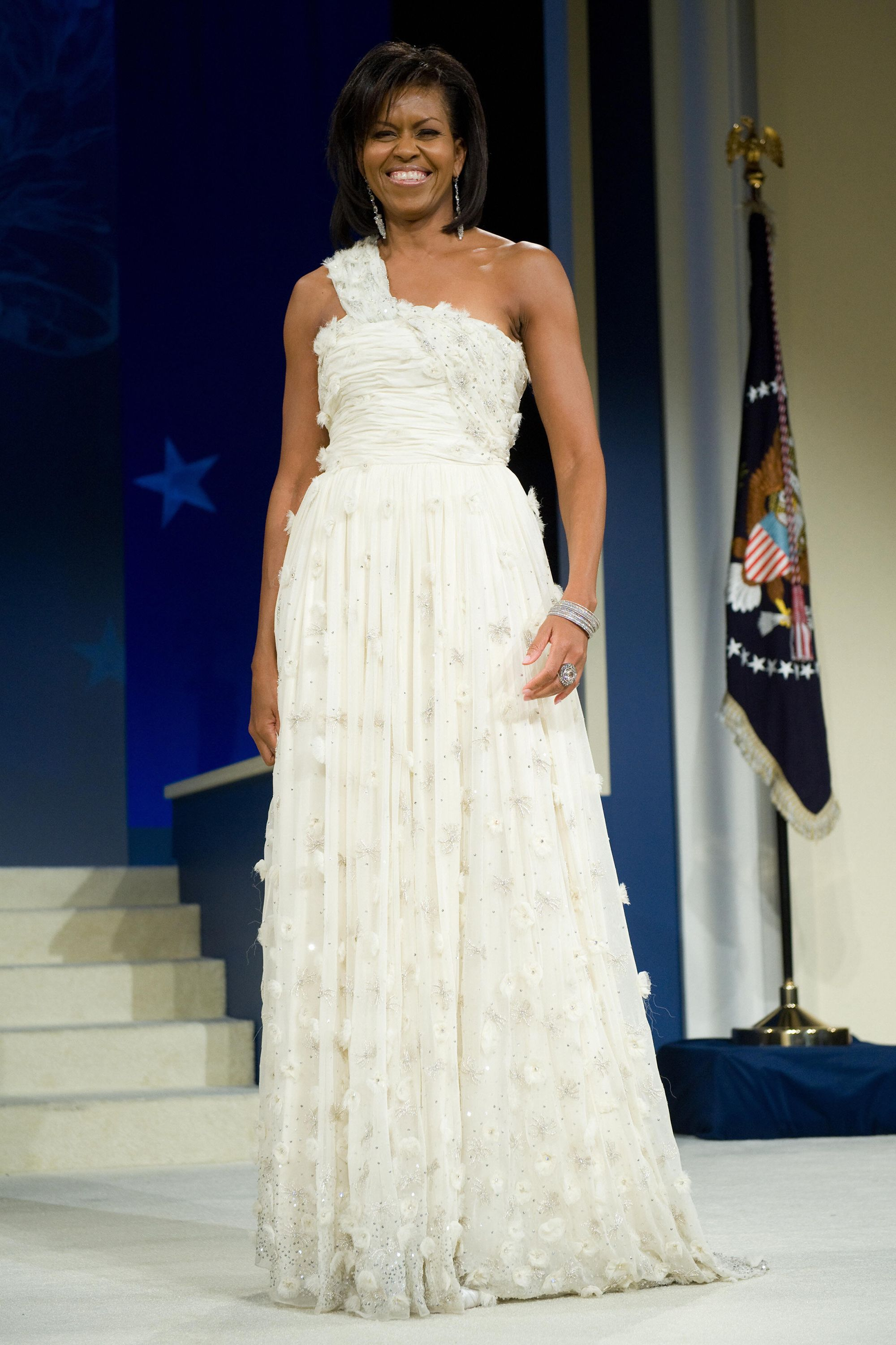 Michelle Obama Wedding Dress