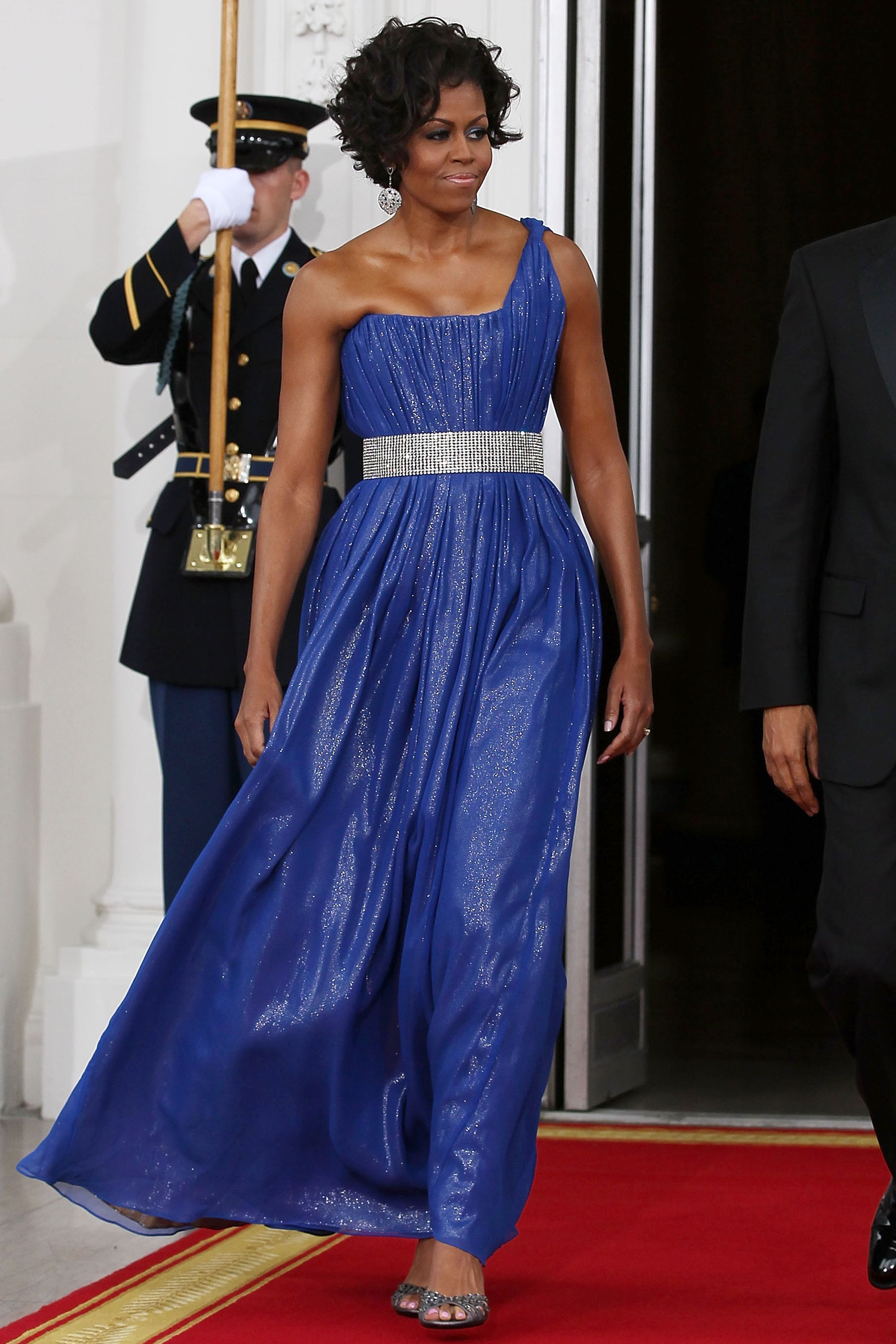Michelle Obama's 45 Best Formal Dresses and Gowns