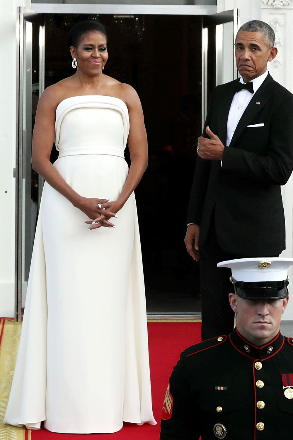 Michelle Obamas 45 Best Formal Dresses And Gowns