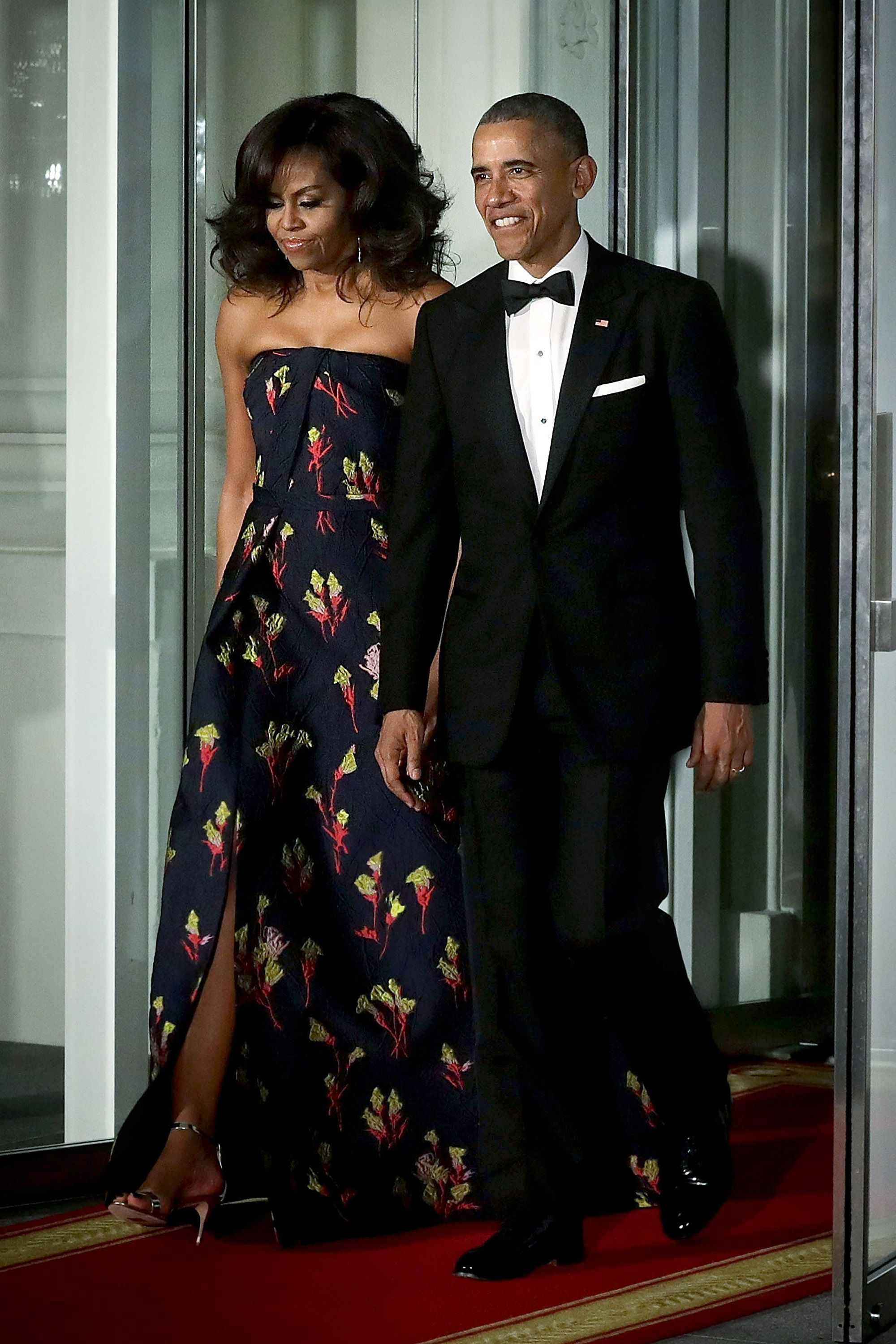 Michelle Obama\'s 45 Best Formal Dresses and Gowns