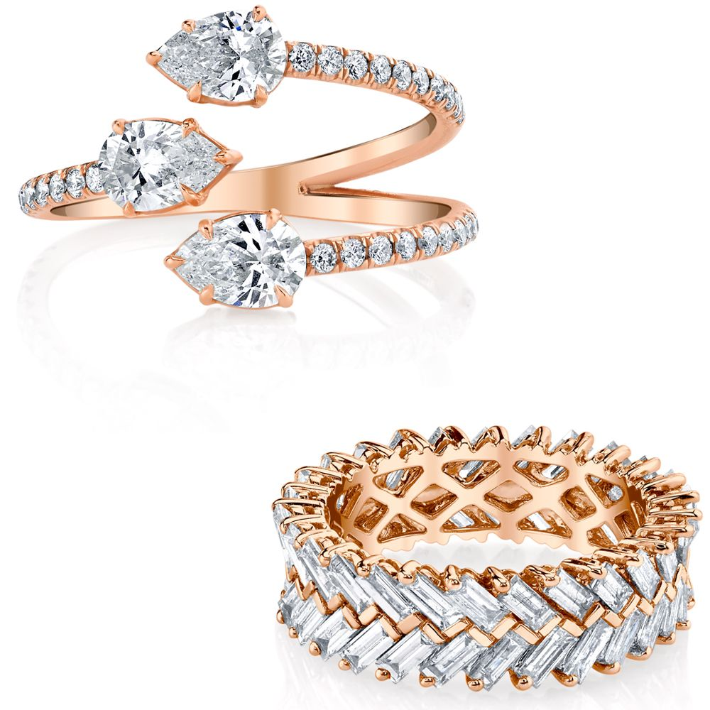 <p>This minimal maven should be your go-to for things that feel as edgy as they do luxe–whether it be for a wedding band or an unconventional engagement ring.</p>