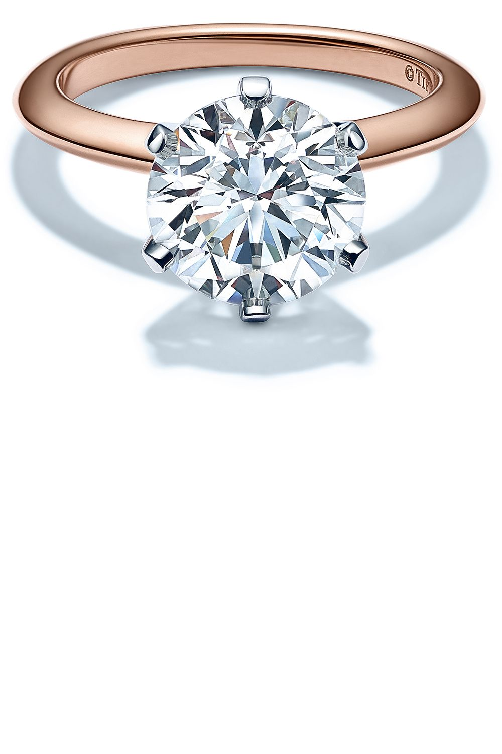 mounting engagement halo in platinum ct tw gold ring rings head diamond white with rose