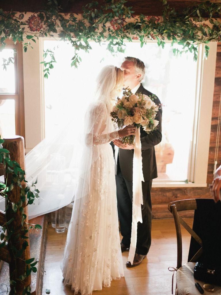 Mary Anne Huntsman And Evan Morgan S Wedding In Montana