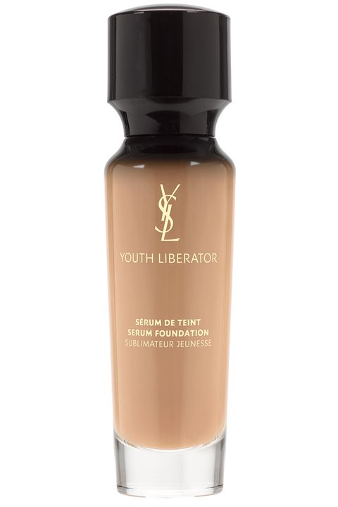 "<p> To prevent lines and dark spots, YSL's serum foundation contains SPF 20. To reverse the ones you already have, it contains collagen-boosting molecules and color pigments for a youthful, rosy glow.</p> <p><strong data-redactor-tag=""strong"">Yves Saint Laurent</strong> Youth Liberator Serum Foundation, $70, <a href=""http://www.yslbeautyus.com/youth-liberator-serum-foundation/1016YSL.html?dwvar_1016YSL_color=Beige%20Rose%2040"">yslbeautyus.com</a>.</p>"