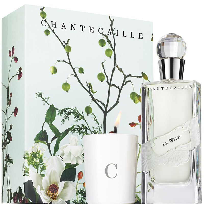 <p>With it's energetic mix of Brazilian gardenias, tuberose, and musk, one whiff of this modern white floral fragrance and candle set can make a bitter winter feel like summer in a tropical jungle.</p>