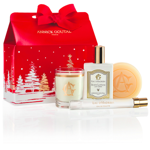<p>A festive assortment of the brand's cult-favorite body and home scents in a pouch so pretty there's no wrapping required.</p>