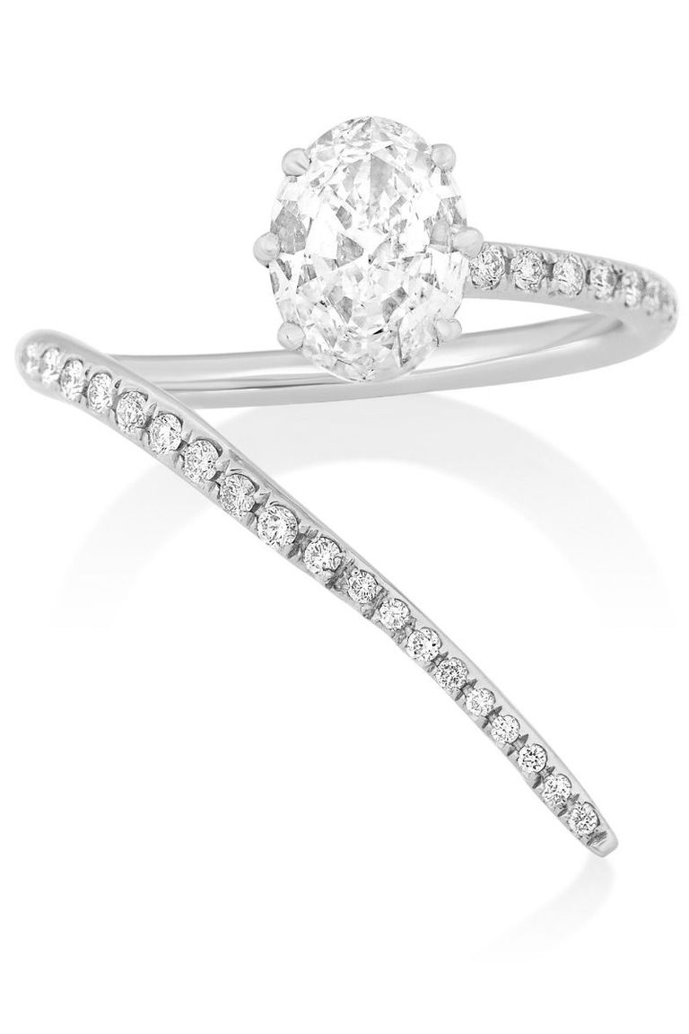 classic promise simple wedding unique bands ring rings engagement diamond