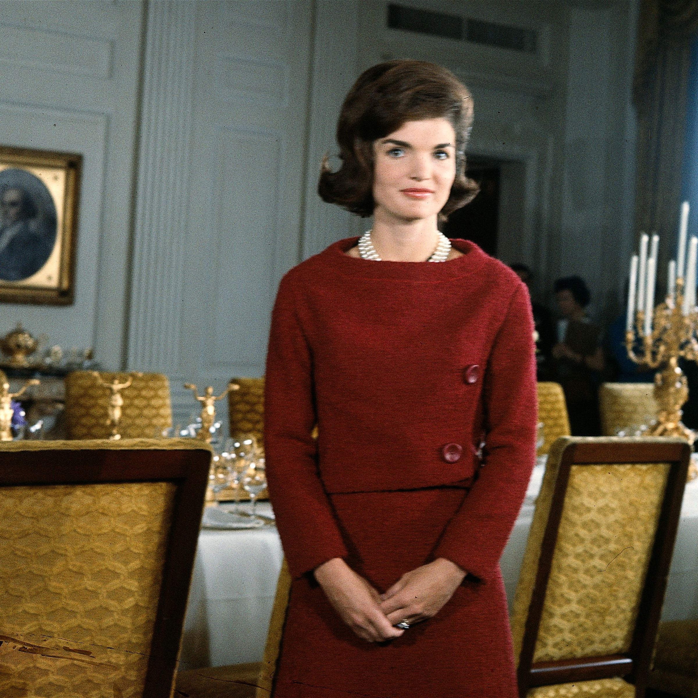 """<p><em data-redactor-tag=""""em"""" data-verified=""""redactor"""">A Tour of the White House with Mrs. John F. Kennedy</em> was broadcast on both CBS and NBC on Valentine's Day in 1962 (it was also shown later on ABC). The program was the first-ever televised tour of the White House, and—at least <a href=""""http://www.cbsnews.com/news/jackie-kennedys-devotion-to-white-house-revealed/"""" target=""""_blank"""" data-tracking-id=""""recirc-text-link"""">according to CBS</a>—the """"first prime-time documentary explicitly marketed toward a female audience.""""</p>"""