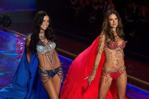 <p>The Dream Angels Fantasy Bras, $2 million each.</p>