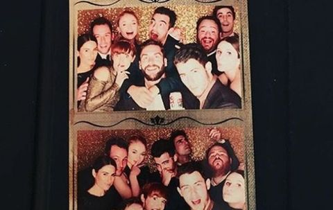 Joe Jonas and Sophie Turner Went to a Wedding Together