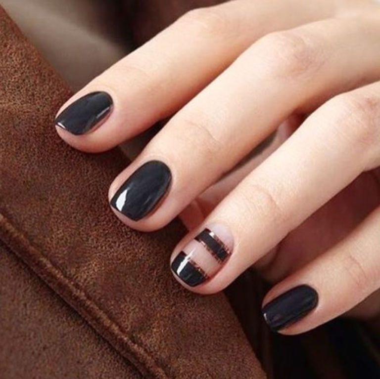15 Cute Winter Nail Art Ideas - Best Nail Designs for Winter 2016-2017