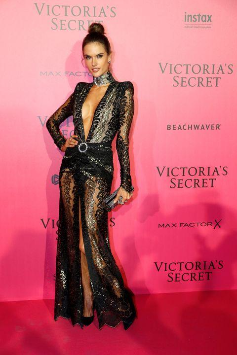 Clothing, Style, Pink, Formal wear, Fashion model, Dress, Magenta, Fashion, Model, Fashion design,
