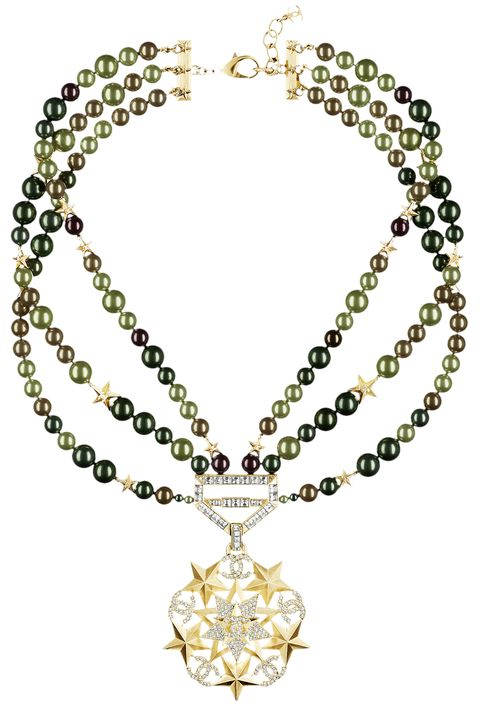 """<p><strong data-redactor-tag=""""strong"""" data-verified=""""redactor"""">Chanel</strong> necklace, $3,025, <a href=""""http://chanel.com"""" target=""""_blank"""" data-tracking-id=""""recirc-text-link"""">chanel.com</a><a href=""""http://chanel.com""""></a>.</p>"""