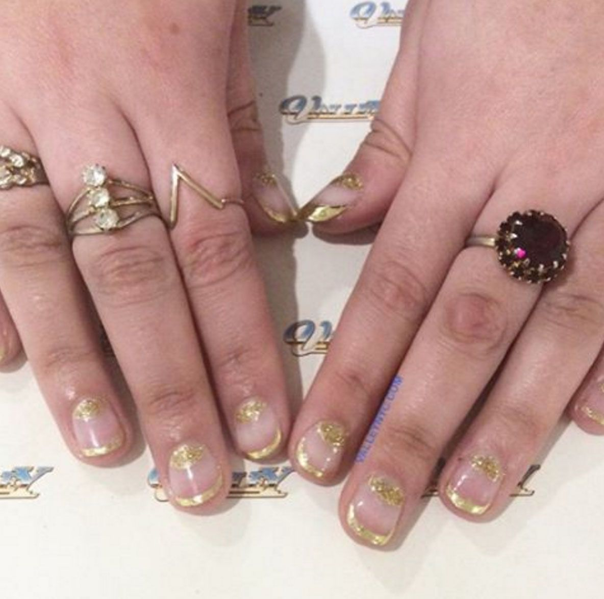 15 Best New Years Eve Nail Art Ideas - Nail Designs for a New Years ...