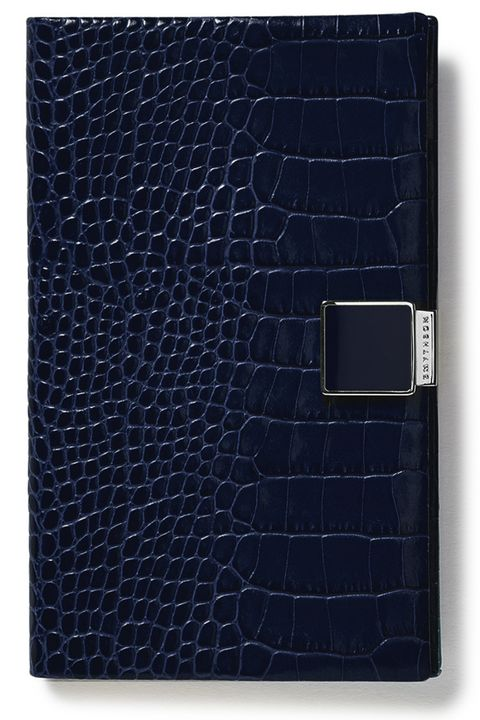 "<p><strong data-redactor-tag=""strong"" data-verified=""redactor"">Smythson </strong>planner, $160, <a href=""http://www.smythson.com/us/navy-2017-panama-diary-1017387.html?___SID=U"" target=""_blank"" data-tracking-id=""recirc-text-link"">smythson.com</a>.</p>"